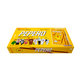 LOTTE Pepero Biscuit Sticks Nude Big Pack 8packs 344g