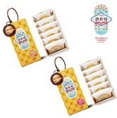 [Taiwan Direct Mail] YEN SHIN-FA COOKIES Sun cake(Original/Brown sugar) 2 Cases Combo *Specialty*