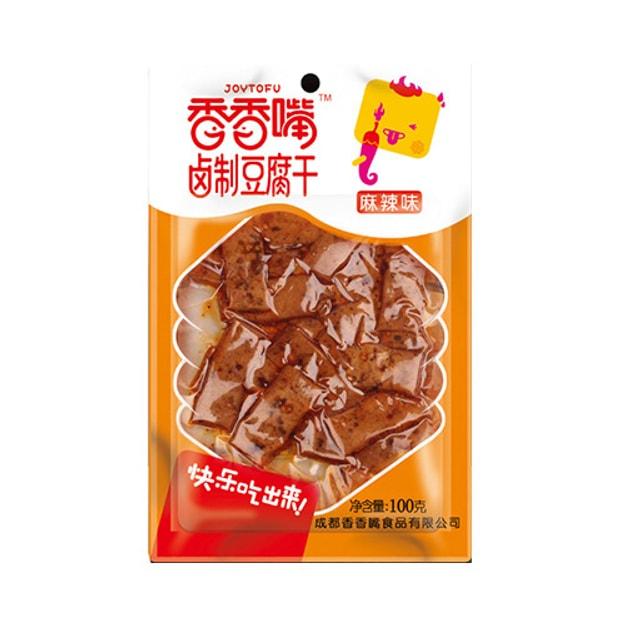 商品详情 - 香香嘴 卤制豆腐干 麻辣味 100g 四川特色零食 - image  0