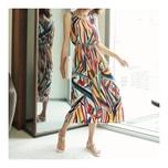 [KOREA] MAGZERO Rainbow Print Sundress #Multi One Size(S-M) [Free Shipping]