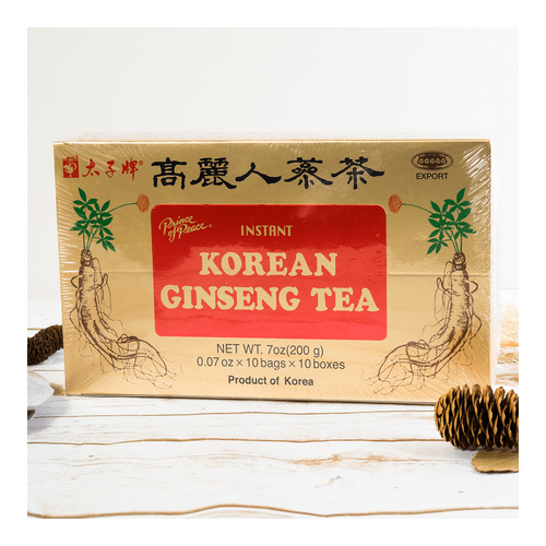 Prince Of Peace Instant Korean Panax Ginseng Tea - 100 Count 200g