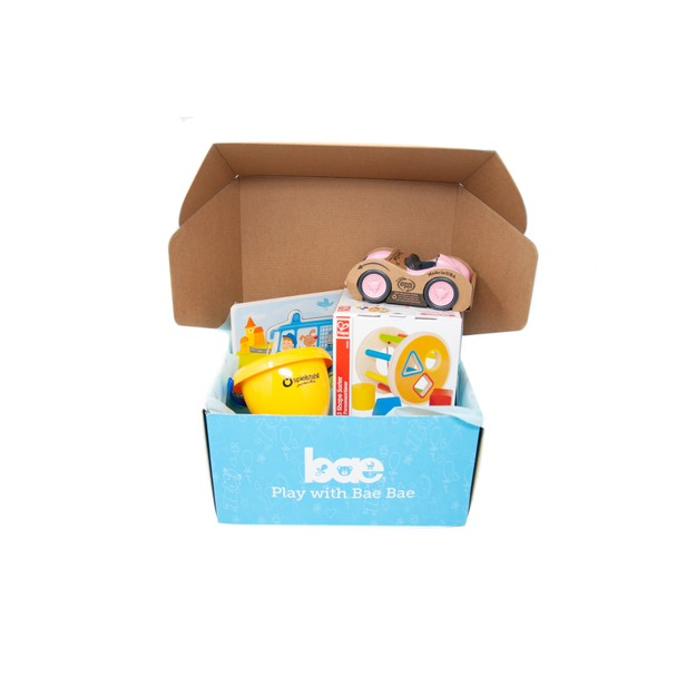 Product Detail - US Bae Bae Box 15 months baby toy box 4 pieces - image 0