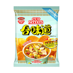 NISSIN Koikeya Cup Noodle Potato Chips Spicy Seafood Flavor 50g