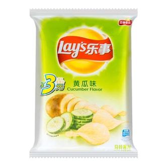 百事LAY'S乐事 薯片 黄瓜味 40g