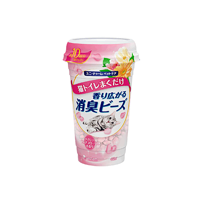 Yamibuy.com:Customer reviews:UNICHARM Fragrant Cat sand Deodorant beads for cats - 205g