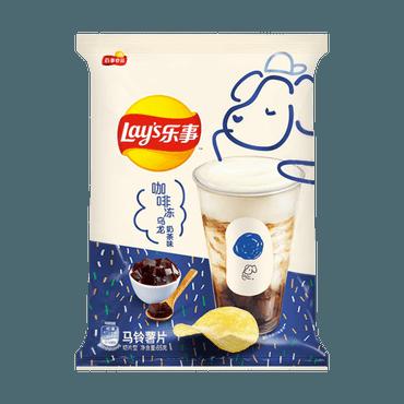 百事LAY'S乐事 薯片 咖啡冻乌龙 奶茶味 65g