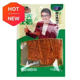 贤哥 天天主播 手撕面筋辣条 鲜汁鸡肉味 150g 汪涵代言