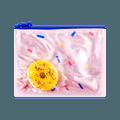 名创优品Miniso 糖果彩虹系列解压甜甜圈笔袋