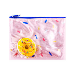 Candy Rainbow Series Donut Pencil Pouch