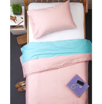 BOXT TEDDY [Designed For Students] All Cotton 4 Pieces Bedding Set #Savannah Twin XL