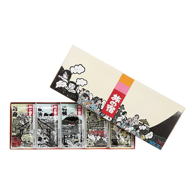 Product Detail - Tabino Yado Bath salt gift set 15pc  375g - image  0