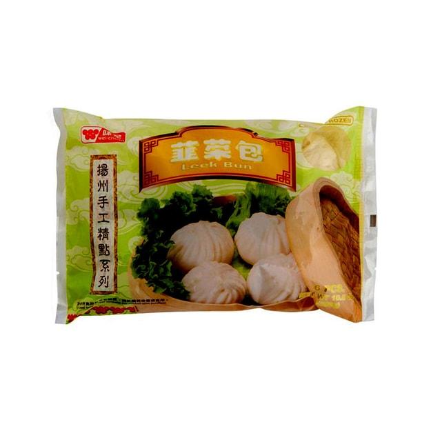 商品详情 - 味全手工扬州韭菜包 300克  50g x 6 count - image  0