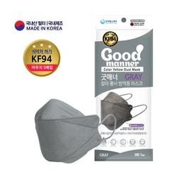 韩国 HANDA HEALTH CARE Good Manner 防尘KF94 口罩灰色 5片