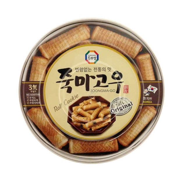Product Detail - SURA JOONGMA-GO Laver Roll Cookie Cracker 365g - image 0