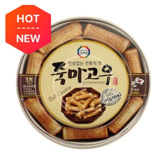韩国三进牌 竹马故友 香烤卷心蛋卷饼 海苔味 礼盒装 365g