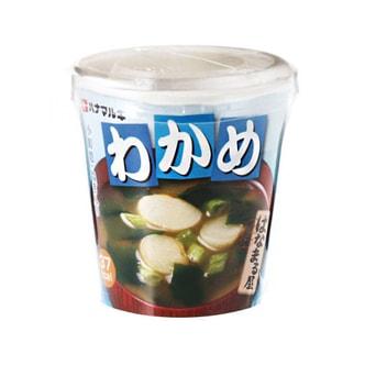 日本HANAMARUKI 海藻味增汤 方便杯装 22.8g