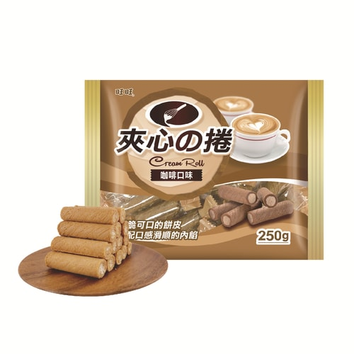 WANT WANT Wafer Sticks Coffee 250g