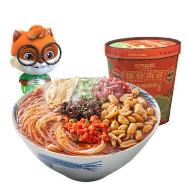 THREE SQUIRRELS-Hot and sour noodles 130g