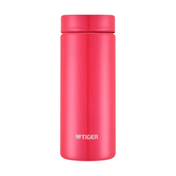 TIGER Stainless Steel Vacuum Insulated Thermal Bottle Mug #Passion Pink 350ml MMZ-A351 PA