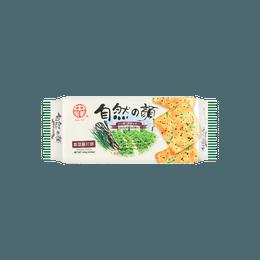 台湾中祥 自然の颜 紫菜苏打饼干 120g