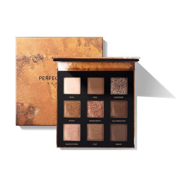 Product Detail - PERFECT DIARY Star Dust Eye Shadow Palette 04 Golden Earth - image 0
