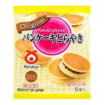 MARUKYO Baked Red Bean Cake Original 6Packs 310g