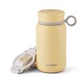 Vacuum Insulated Stainless Steel Water Bottle, Travel Mug, 300ml, Light Yellow