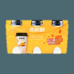 香飘飘 好料系 芒果布丁奶茶 80g*3连杯