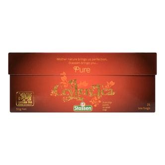 斯里兰卡STASSEN司迪生 精选锡兰红茶 25包入 50g