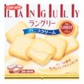 日本LANGULY 香草奶油三明治夹心饼干 4包入 129.6g