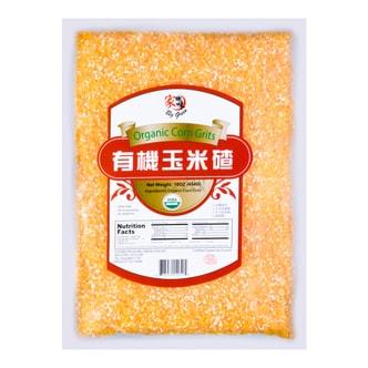 BIG GREEN Organic Corn Grits 454g