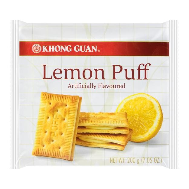 商品详情 - 新加坡KHONG GUAN康元 柠檬夹心饼干 200g - image  0