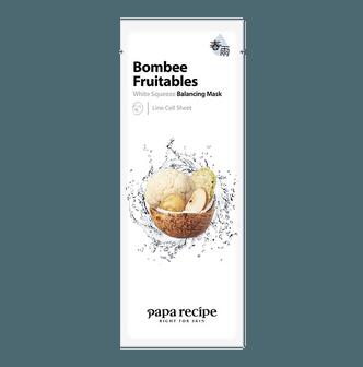 PAPA RECIPE Bombee Fruitables White Squeeze Balancing Mask 1 sheet