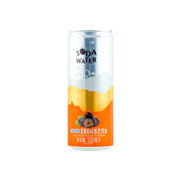 Sparkling Water Passion Fruit Flavor 330ml