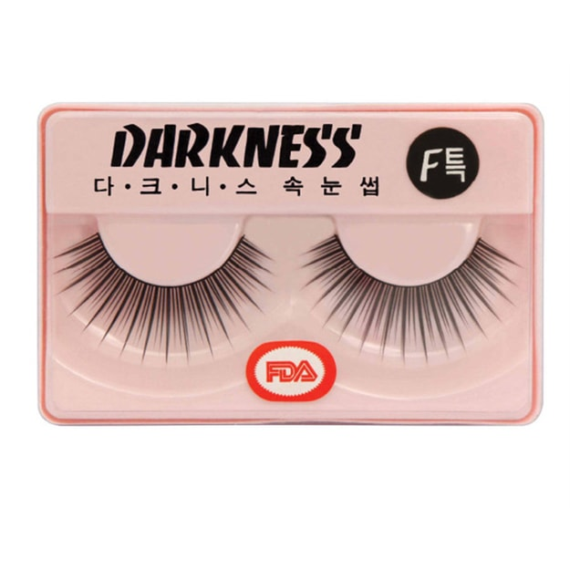 Product Detail - DARKNESS False Eyelashes #F특 1Pair In 1Box - image 0