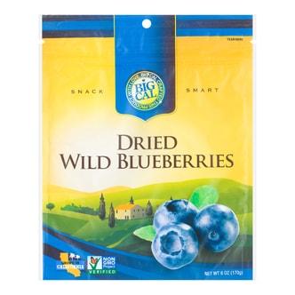 美国BIGCAL比格家 阳光干果系列 野生蓝莓干 170g USDA有机认证