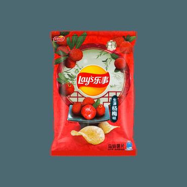 【非凡新口味】乐事 薯片 生津杨梅味 60g