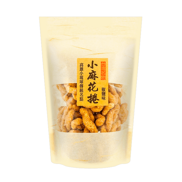 Product Detail - ENLIEN Small Twist Salt & Pepper Flavor 135g - image 0