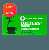 Natural Leaf Brand Dieters' Tea Drink 18-Count