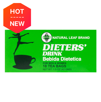 Natural Leaf Brand Dieters' Tea Drink 18-Count