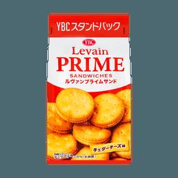 日本YBC 天然酵母夹心饼干 153g