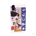 [中国直邮]  乐学办公  LEARN&WORK 日系和风卡通立体浮雕防摔软壳苹果手机壳 适用于iPhoneX