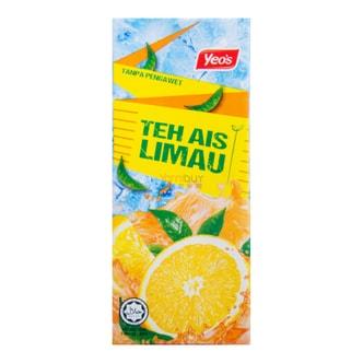 新加坡YEO'S杨协成 无添加冰凉柠檬茶饮料 250ml