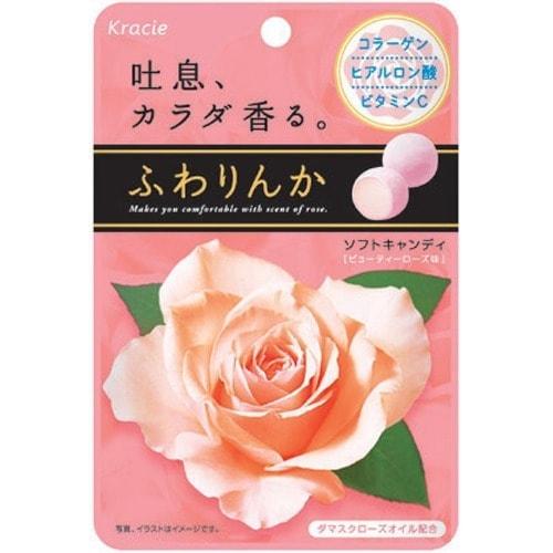 日本KANEBO嘉娜宝果漾玫瑰神奇香体糖 32g 怎么样 - 亚米网