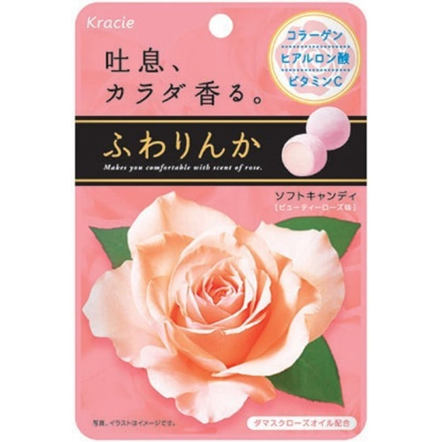 Product Detail - KANEBO Classifies Fluffy Rinnka Candy Fruity Rose Flavor 32 g - image 0