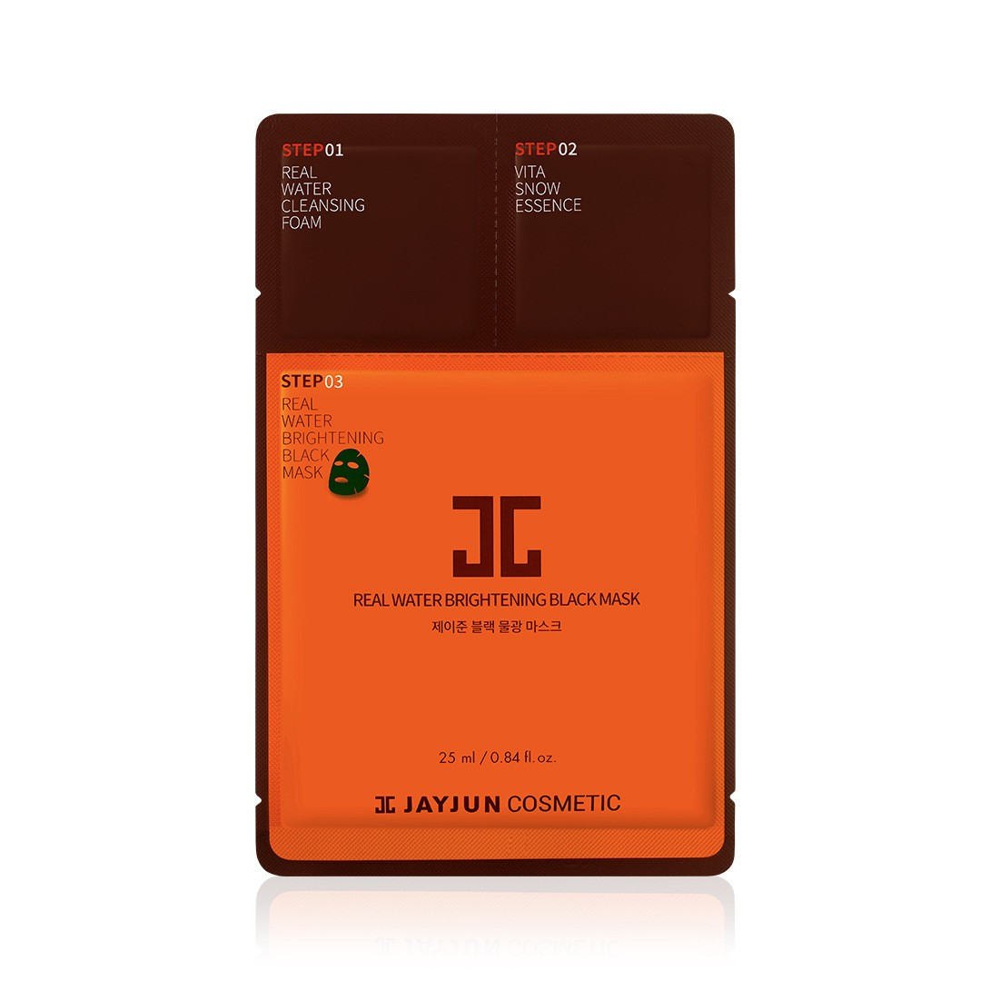 Yamibuy.com:Customer reviews:JAYJUN Orange 3 Step Mask Refine to Shine 1sheet