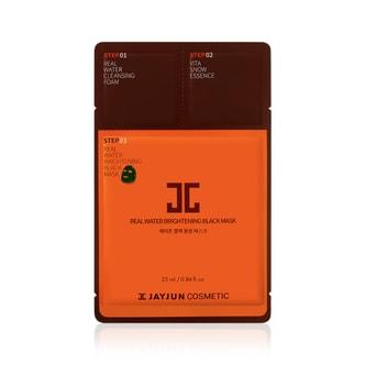 韩国 JAYJUN 水光针剂3步黑面膜 1片