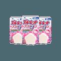 【超值3包装】【除菌免刷】日本KOBAYASHI小林制药 马桶水箱清洁除菌芳香剂 星星造型 无色 香皂香型 120g