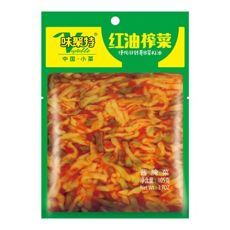 四川味聚特 红油榨菜 105g
