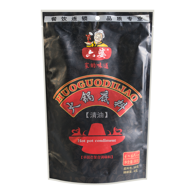 Product Detail - LIUPO Hot Pot Soup Base 580g - image 0